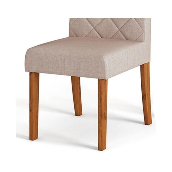Kit Com 2 Cadeiras Golden Rustico Ter/Linho Cl