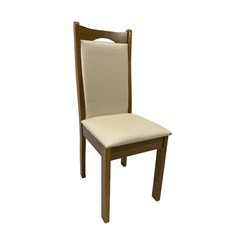 Kit Com Duas Cadeiras Eubeia Com Tecido Facto Bege
