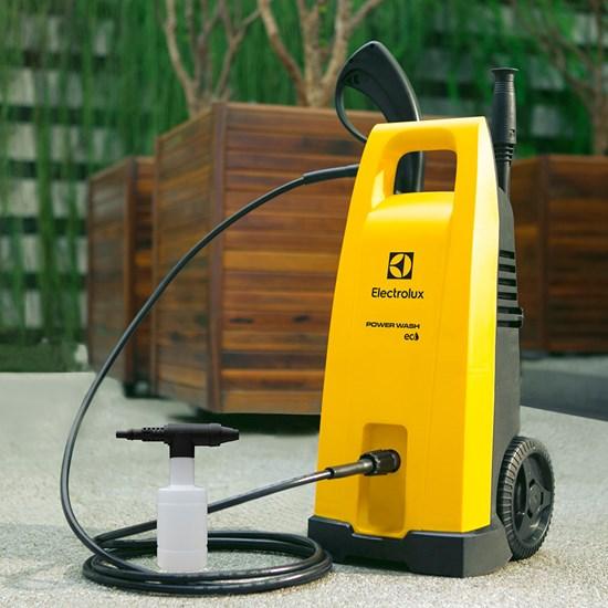 Lavadora De Alta Pressão Power Wash Eco Amarelo