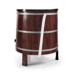 Lavadora De Roupas 5Kg Madeira Tradicion Preta