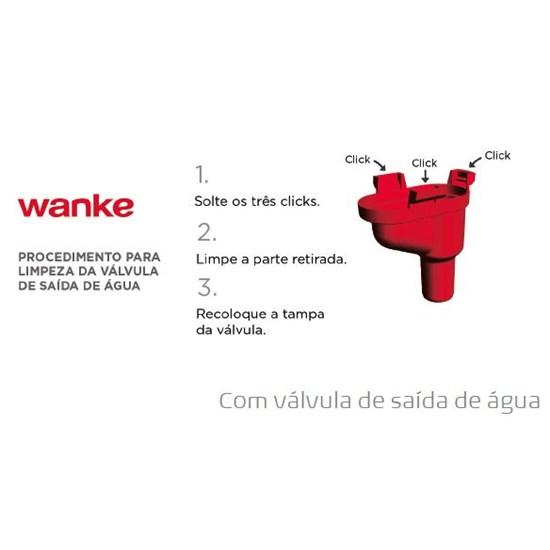Lavadora De Roupas Wanke 12K Priscila Ma Preto