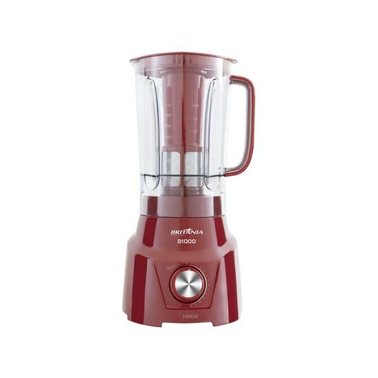 Liquidificador B1000 1200W Britânia Vm Vermelho
