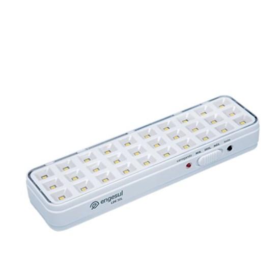 Luminária De Emergência Autônoma Lde 30L Branco