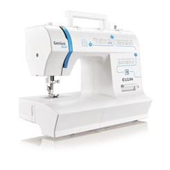 Máquina De Costura Jx-4035  Genius Plus Branco/Azul