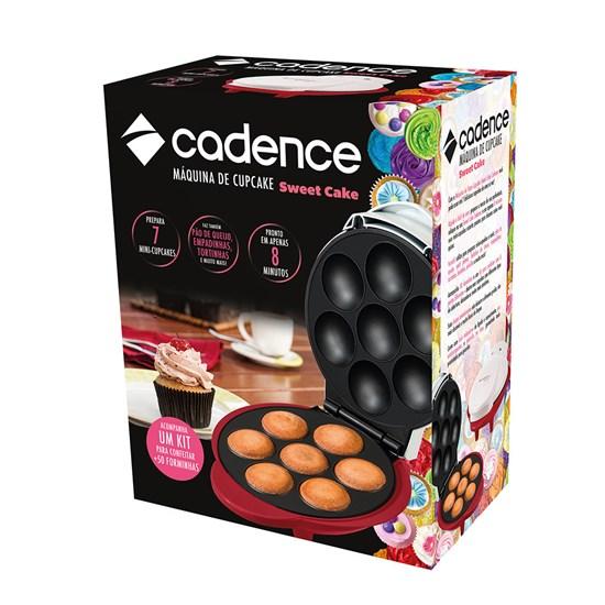 Máquina De Cupcakes Cadence Sweet Cakes Branco/Vermelho