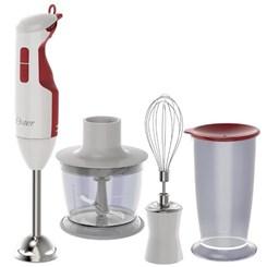 Mixer Oster Delight Função Turbo 3 Em 1 Branco E Vermelho