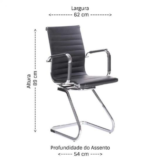 Par De Cadeiras Visitante Office