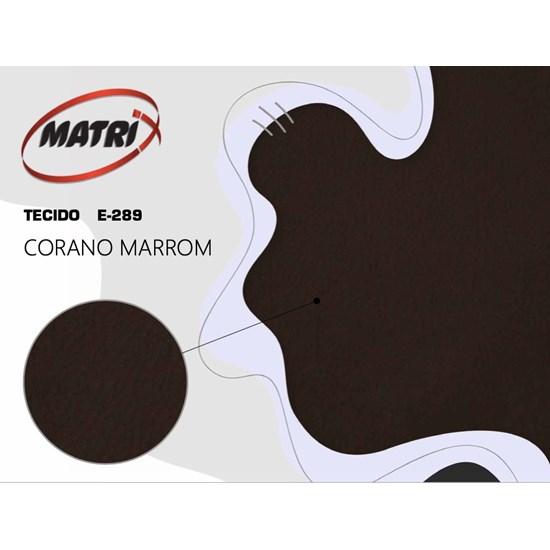 Poltrona Classic Reclinável Matrix Marrom Corino