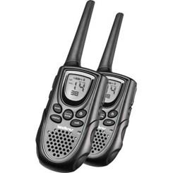 Rádio Amador Twin 9,6 Pt Intelbras Preto