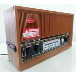 Rádio Mesa Itamarati 3 Faixas Usb/Sd/Blu Marrom