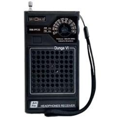 Rádio Portátil 2 Fxs Rmpf25 Preto