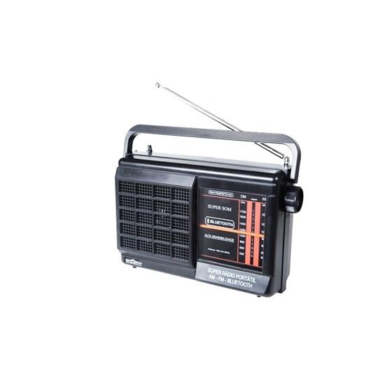 Rádio Portátil 2F C/Buetooth Psmpbt21 Preto