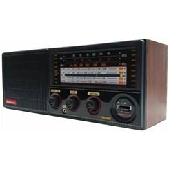 Rádio Portátil 7Faixas Crc71 Companheiro Preto