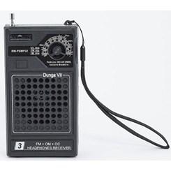 Rádio Receptor 3 Faixas Rmpsmp 32 Preto