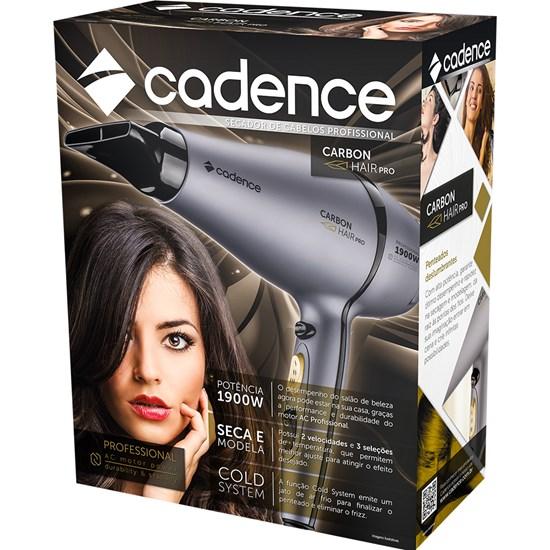 Secador Carbon Hair Pro Cadence Cinza