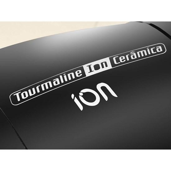 Secador De Cabelos 2000W Tourmaline Ion  Preto