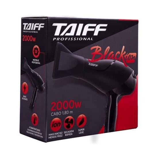 Secador De Cabelos Black Íon Taiff 2000W Preto