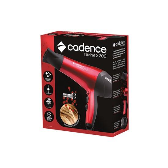 Secador De Cabelos Cadence Divine 2200W Vermelho