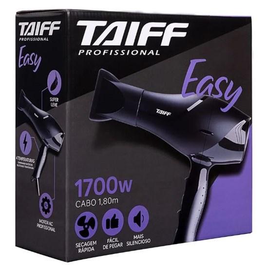 Secador Easy Taiff 1700W Preto