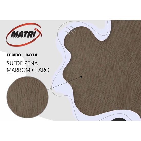 Sofá Cama Dinorá Matrix Marrom Claro - 374