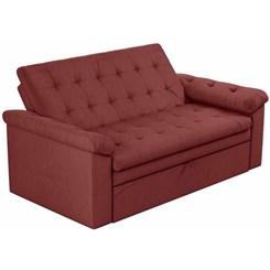 Sofa Cama Roxane Veludo Goiaba B258