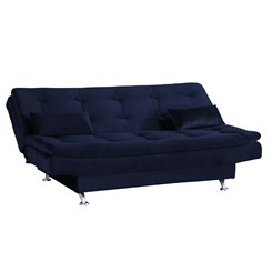 Sofá Cama Salomé Matrix Azul 433