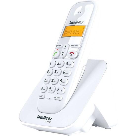 Telefone Sem Fio Ts 3110 Intelbras Branco