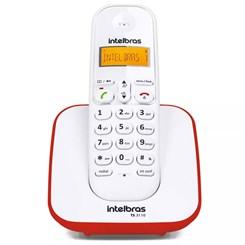 Telefone Sem Fio Ts 3110 Intelbras Vermelho