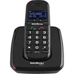 Telefone Sem Fio Ts 63 V Preto
