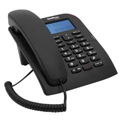 Telefone Tc60 Com Fio Com Identificador Preto
