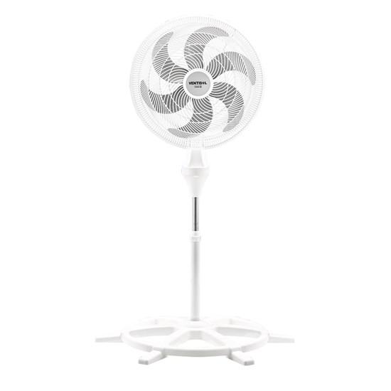 Ventilador Coluna 50Cm Turbo 6P Branco