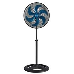 Ventilador Coluna 50Cm Turbo 6P Premium Preto Helice Azul