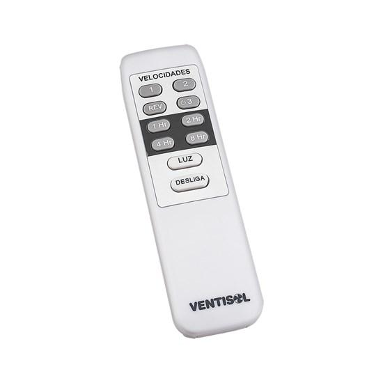 Ventilador Teto Sunny 3Pas Controle Branco